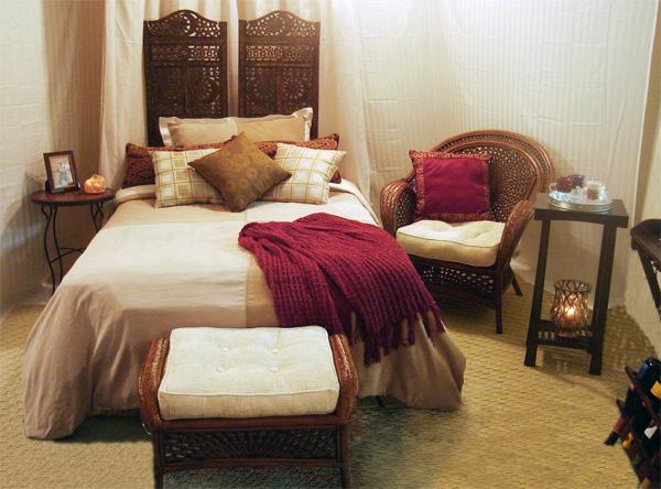 Luxury wifi teepees in the yukon notcot - Dormitorio estilo colonial ...