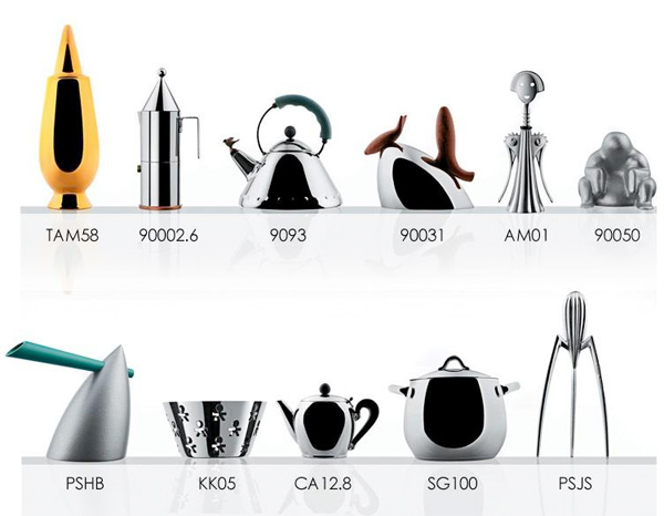 Tags: alessi - gifts - home - kitchen - shopping - Alessi Miniatures (NOTCOT)