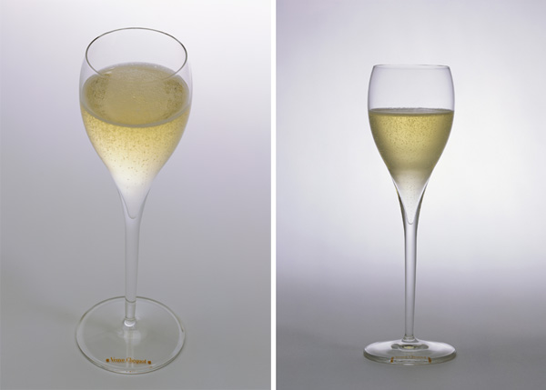 A history of champagne glasses notcot - Petite flute a champagne ...