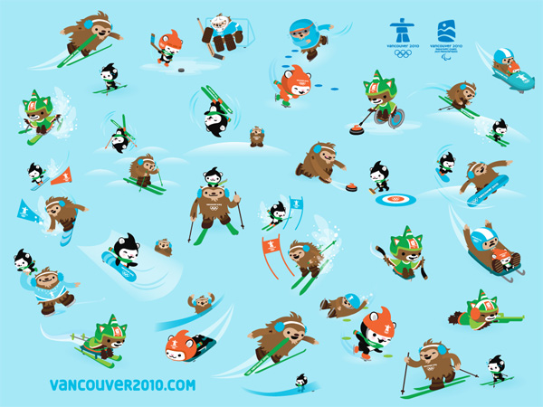 star wars mimos, and now these 2010 olympics mascots are far too good