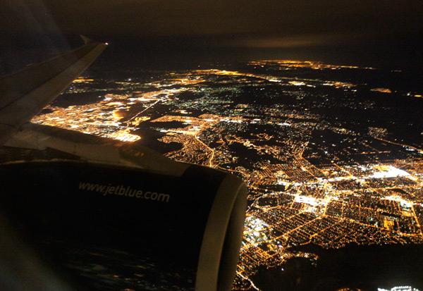 Operation Window Seat La Sparkles At Night Notcot