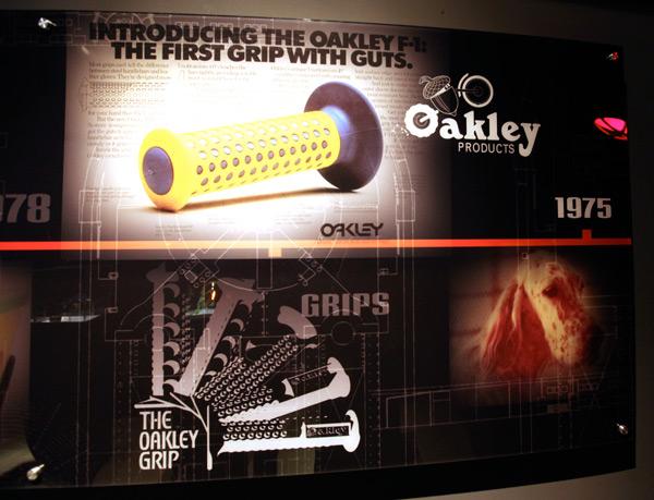 Oakley B-1B Guidance System BMX Grips