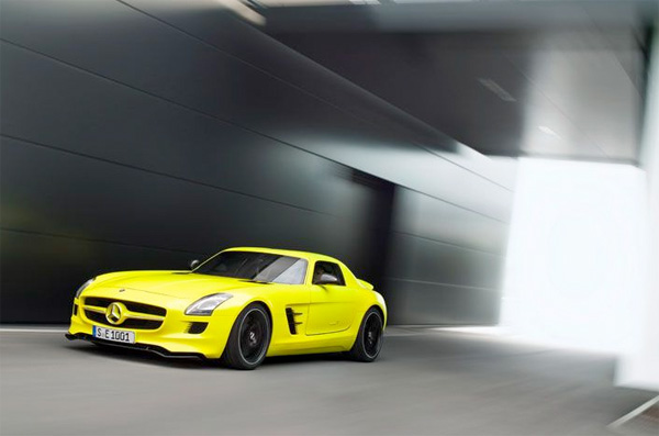 The Mercedes Benz Sls Amg E Cell. the Mercedes-Benz SLS AMG