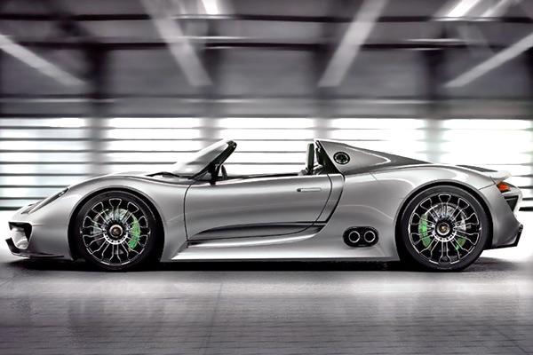 porsche 918 spyder hybrid concept notcot. Black Bedroom Furniture Sets. Home Design Ideas