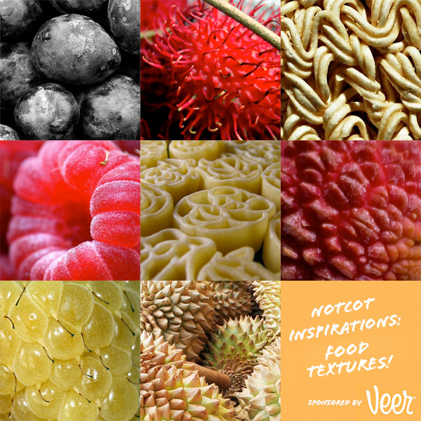 INSPIRATIONS: TEXTURES IN FOOD