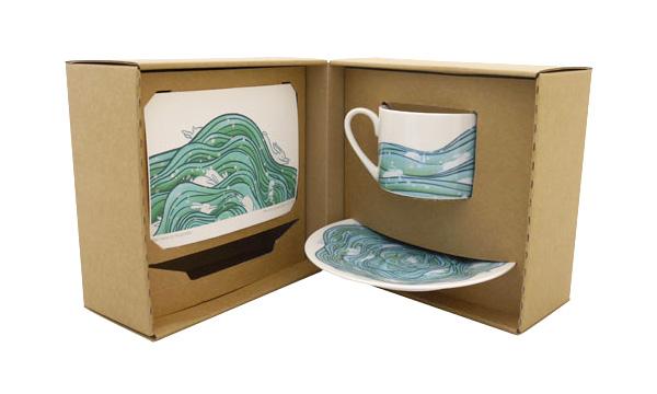 KOZYNDAN SEA HARES TEA SET