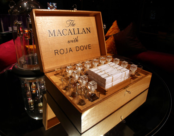 THE MACALLAN WITH ROJA DOVE