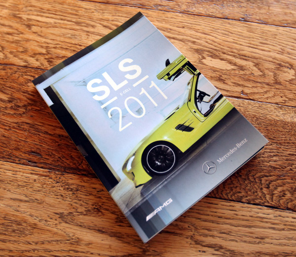MERCEDES-BENZ SLS E-CELL 2011 CALENDAR