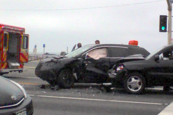 Valley Motor Honda >> Spyshots: 2012 Honda CR-V Accident? (NOTCOT)