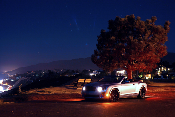 BENTLEY SUPERSPORTS – IT'S DIFFERENT AT NIGHT