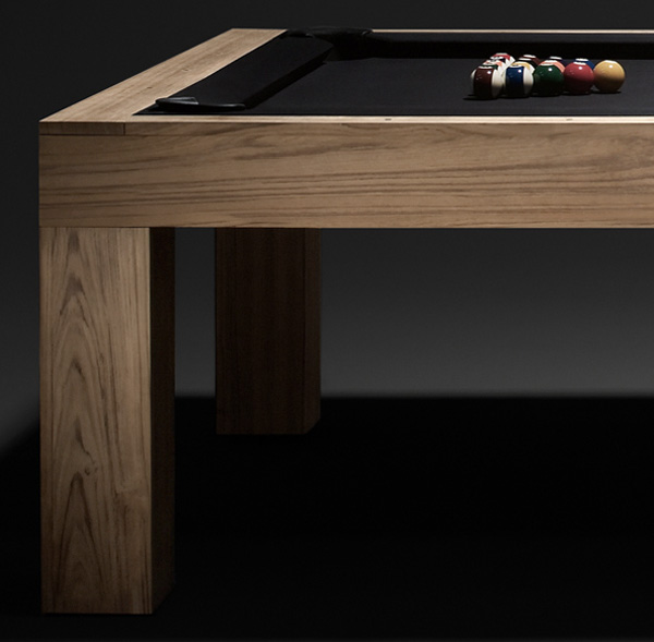 James Perse Teak Pool Table Notcot