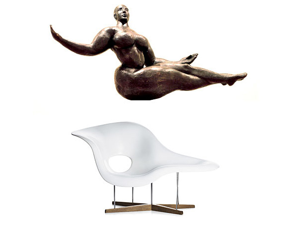 Eames la chaise 1948 notcot for La chaise eames occasion