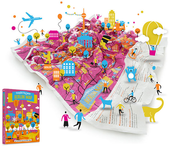 Crumpled city junior maps by palomar 11 30 11