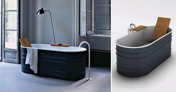 Metal Trough Bathtub : Galvanized Horse Trough Bathtub - Best Bathtub 2017