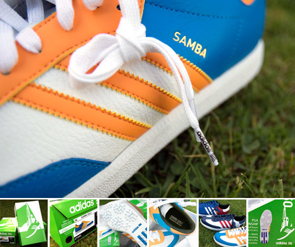 adidas golf samba le edizioni limitate (notcot)