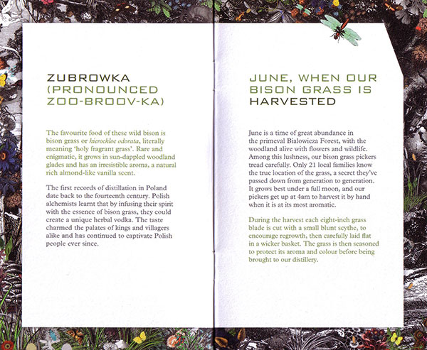 ZUBROWKA VODKA PACKAGING