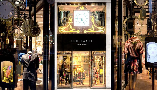 Ted Baker London's Maids & Butlers take NYC (NOTCOT)
