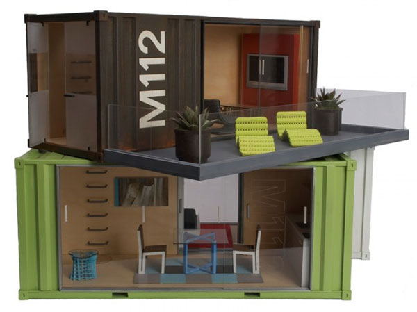 Artist studio in a shipping container joy studio design gallery best design - Shipping container home kit ...