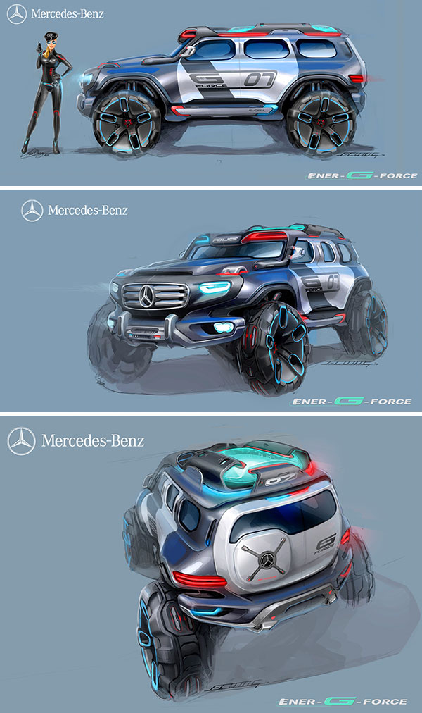 Mercedes benz ener g force concept car notcot for How much does mercedes benz biome cost