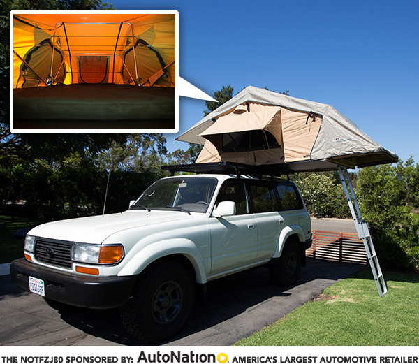 NOTFZJ80: ARB Simpson III Roof Top Tent