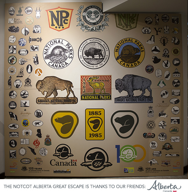 Parks Canada Logos – Cave and Basin