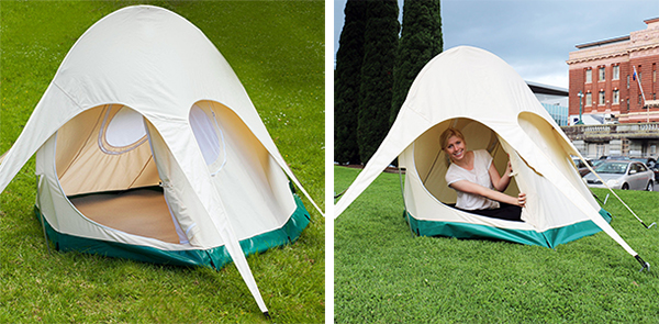 Additionally there is now also the Lotus Belle Pearl - a little two man tent ... & Lotus Belle Tents + Assembly (NOTCOT)