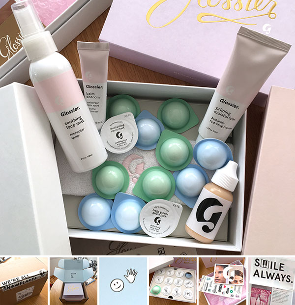 Glossier Packaging