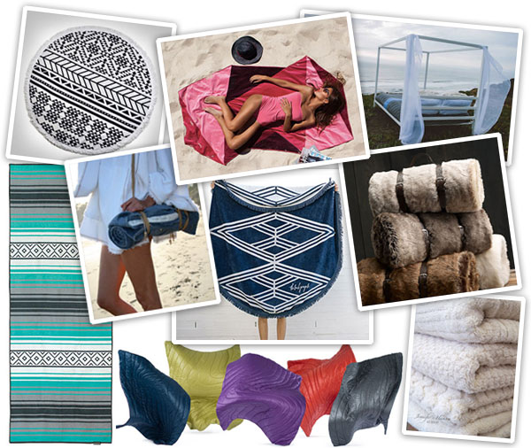 Gift Guide: Beach Blankets & Towels