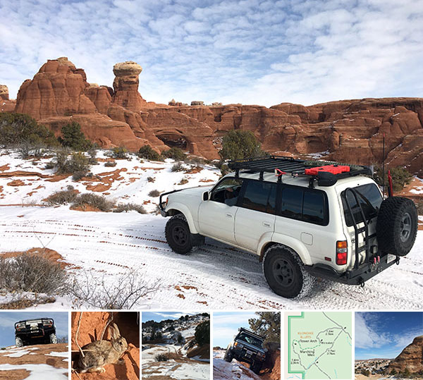 NOTFZJ80: Off-roading Arches National Park