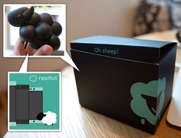 Unboxing: Nextbit Black Sheep Toy