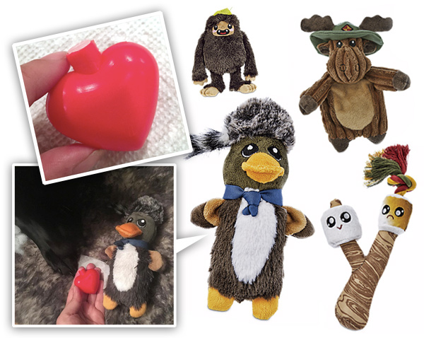 Petco Dog Toys with (Squeaker) Heart