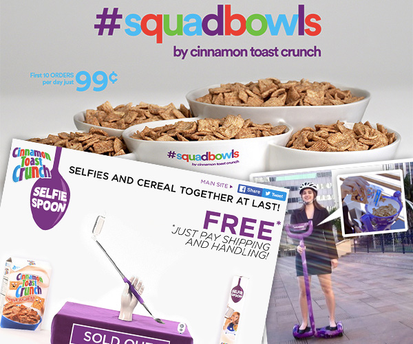 Cinnamon Toast Crunch Product Madness