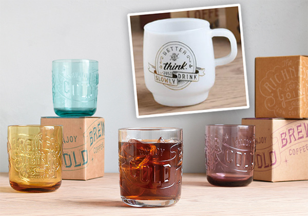 Slow Coffee Style: Sign Paint Mugs
