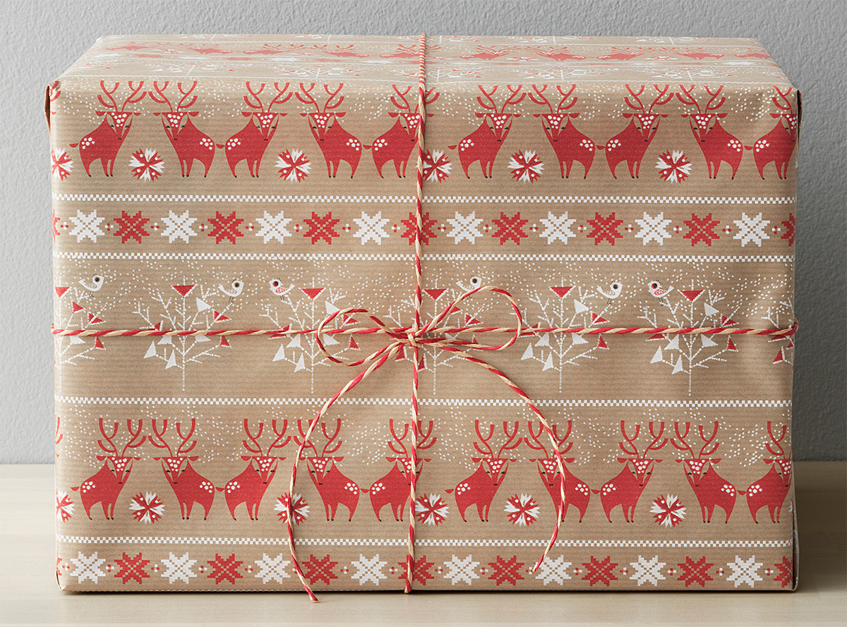 Ikea Vinter 2017 Gift Wrapping Notcot