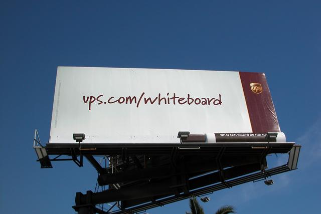 ups billboard design