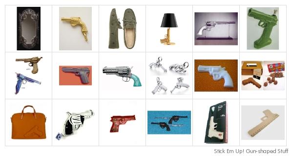 Shop...or I'll shoot!
