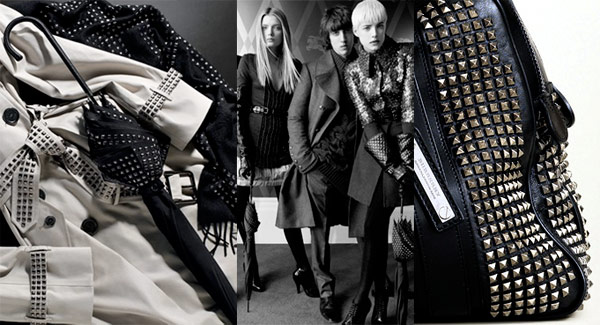 I seem to have grown a certain morbid fascination with this Burberry Studded ...