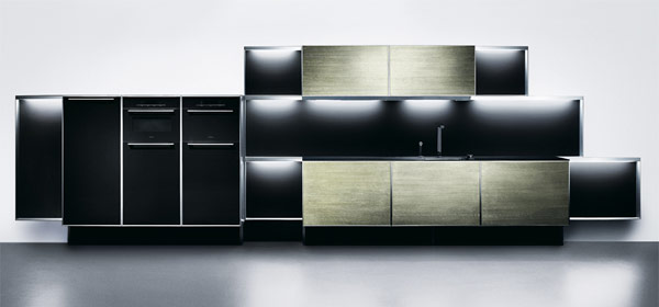 Porsche Design Kitchen (Notcot)