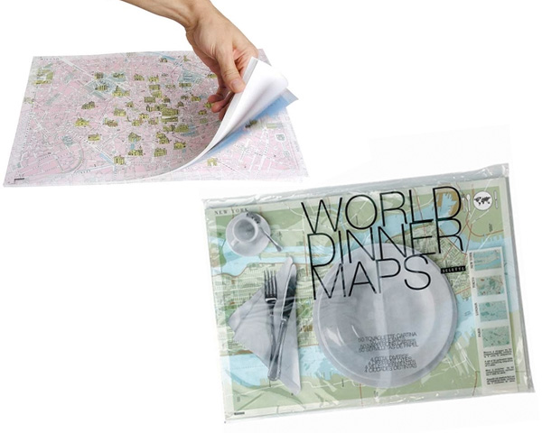 Brand-new Dinner World Placemat Pad (NOTCOT) CL83