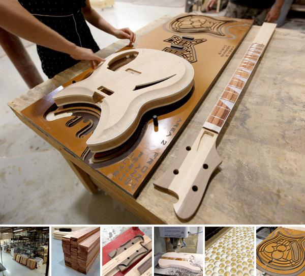 Asian built martin copy guitars
