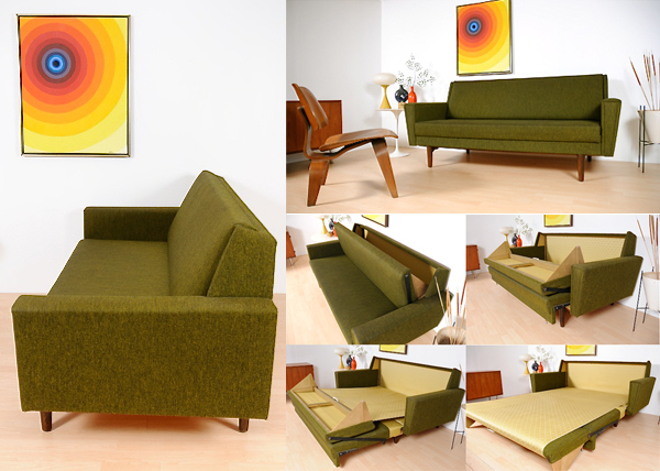 60 s Danish Sleeper Sofa NOTCOT